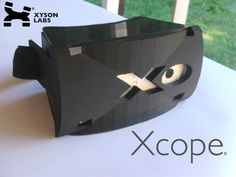 Xcope: Virtual & Augmented Reality Headset for Smartphones by Xyson Labs — Kickstarter.  Xcope is immersive virtual reality, augmented reality, movies, games and more. If it's on your smartphone, it's on Xcope.