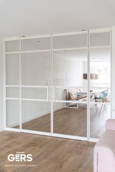 White Internal Doors, House Styles, House Design, Storage House, Interior, Diy Bedroom Decor, Glass Doors Interior, Home Decor, Home Deco