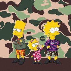the simpsons abcdefghijklmnopqrstuvwxyz Simpson Wallpaper Iphone, Cartoon Wallpaper, Iphone Wallpaper, Simpsons Springfield, Bart And Lisa Simpson, Rauch Fotografie, Arte Black, Trill Art, Simpsons Art