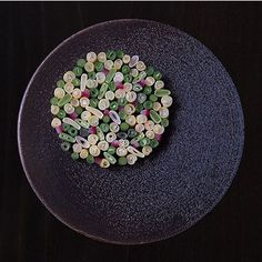 Prettiest bean salad if there ever was by @bryceshuman : @signebirck #TheArtOfPlating