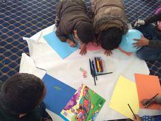 Mas talleres dirigidos por nuestros compañeros en Nepal, trabajando las emociones con los niños del Orfanato.