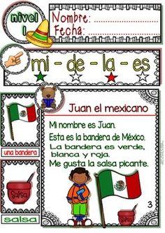 SPANISH READING - MEXICO PASSAGES - TRANSLATION SHEET ADDED -LEVEL 1 - TeachersPayTeachers.com