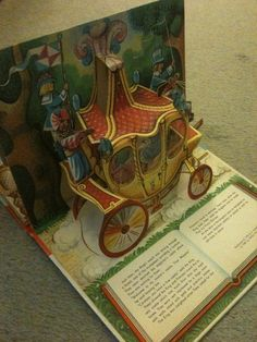 Object #2 Puss in Boots pop-up book 1982