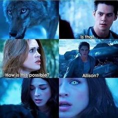 I never really liked Allison bc I would like to pair her up with different characters but I honestly do miss her this would be a great cliff hanger