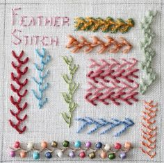 We've made it to week 11 of The Floss Box summer stitch school. Time flies when you are having fun, and stitching is lots of fun! This week ...