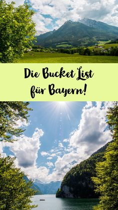 The Bavaria Bucket List! - Sophia& world - The Bayern Bucket List – What can you experience in Bavaria? Us Travel Destinations, Holiday Destinations, Vacation Ideas, Seen In Tirol, Philippines, Michigan, Arizona, Tokyo, Road Trip