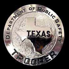 Texas Highway Patrol Badge