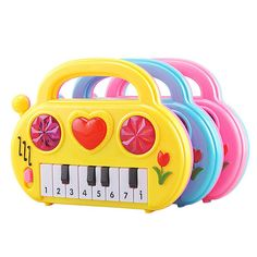 B toys Meowsic Toy Piano Children/'s Keyboard Cat Piano with Toy Microphone for Kids 2 years Pack of 8 /& Basics AA Performance Alkaline Batteries - Packaging May Vary