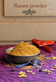Homemade Rasam powder http://www.upala.net/2015/05/home-made-rasam-powder.html