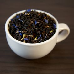 Organic high grown estate black tea hand blended with fragrant oil of bergamot and a touch of French vanilla. A remarkable blend with fresh citrus notes. Small Tea, Keep Calm And Drink, Earl Gray, Tea Blends, French Vanilla, Loose Leaf Tea, Organic Oil, Tea Mugs, Drinking Tea