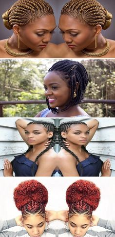 Hairstyles with Braids for Black People