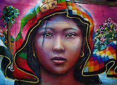 Mural en Peñalolén con Gesak  #mural #graffiti #streetart #kode #alanzarate #gesak #hacrew