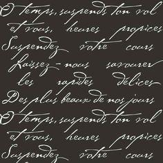 Versuchen Sie Wand Schablonen statt teure Tapete! Cutting Edge Schablonen bietet die besten Schablonen für DIY Dekor - Schablonen fachmännisch gestaltet durch professionelle dekorative Maler Janna Makaeva und Greg Swisher, die mehr als 20-jährige Erfahrung der Malerei haben. Wir sind eine seriöse Schablone-Firma, die hinter seinen qualitativ hochwertiges Produkt steht. Wir fühlen uns geehrt, Ihr 100 % positives Feedback haben :)  Diese schöne französische Gedicht Typografie Schablone ist…