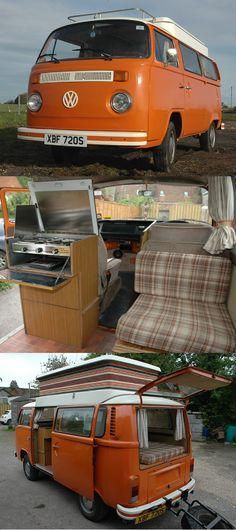 Tangerine Dream - klassischer VW Bulli von 1978 #vw #vwbus #vwbulli #camper #campingvan #campingbus campingar #camping #campanda