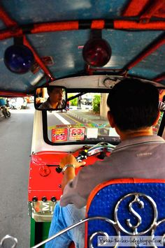 I've been on a Tuk Tuk in Thailand - should be apart of everyone's bucket list!! :)