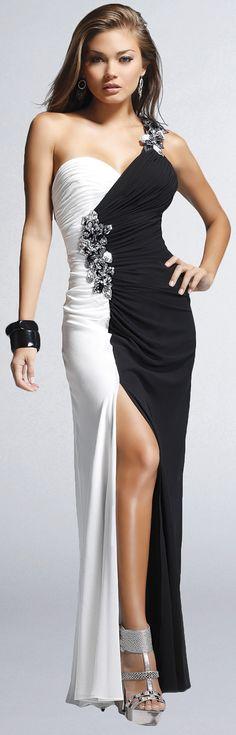 black and white fashion ♥✤ | Keep the Glamour | BeStayBeautifu