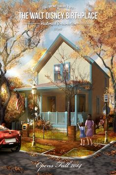 Walt Disney's Childhood Home To Be Reimagined As A Museum [Opens Fall 2014]