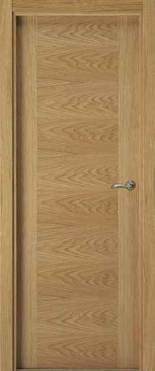 Lisa VH, puertas de madera lisa modernas Eurodoor