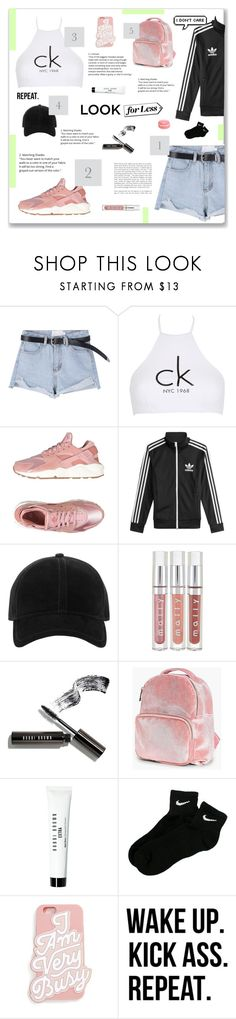 """""""Sin título #92"""" by florii17 ❤ liked on Polyvore featuring Calvin Klein, NIKE, adidas, rag & bone, Bobbi Brown Cosmetics, Boohoo, ban.do and WALL"""