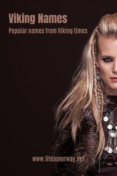 Female Viking Names, Viking Baby Names, Female Warrior Names, Female Viking Costume, Viking Cosplay, Sheild Maiden, Viking Shield Maiden, Norwegian Vikings, Nordic Vikings
