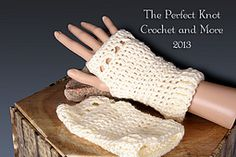 Ravelry: The NOW Fingerless Gloves pattern by The Perfect Knot - Michelle Kovach