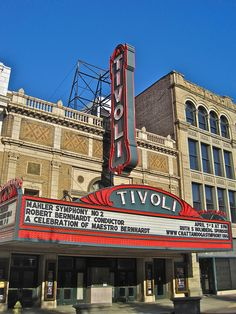 Tivoli Theatre, Chattanooga, TN by Robby Virus, via Flickr