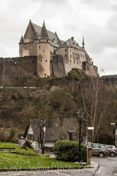 Vianden Castle and Medieval City in Luxembourg