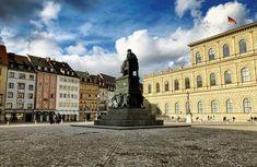 "@live_life_love_travel on Instagram: ""Max-Joseph-Platz in central Munich."""