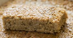 Maple-Brown Sugar Oatmeal Breakfast Bars