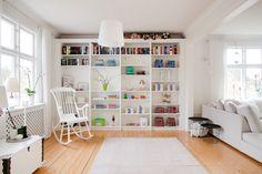 Modern room. Scandinavian design. Nordic design.