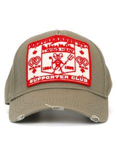 DSQUARED2 Patch Front Baseball Cap. #dsquared2 #cap