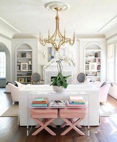 Bria Hammel Interiors | Holidays | 50 Shades of Pink http://amzn.to/2saZO4H