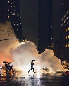 "3,225 Likes, 13 Comments - Fubiz (@fubiz) on Instagram: ""Mystical Night by @danorst #light #nightlife #urban #urbanphotography #photography #cloud…"""