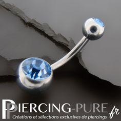 #piercing #piercingnombril #piercingstrass #navelpiercing #piercingbleu https://piercing-pure.fr/p/61-piercing-nombril-deux-cristaux-bleu-clair.html