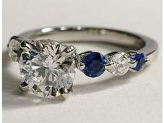 LOVE  diamonds and sapphires by TamidP