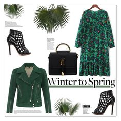 """""""Winter to Spring Layers"""" by vanjazivadinovic ❤ liked on Polyvore featuring Belstaff, John-Richard, polyvoreeditorial, Poyvore, Wintertospring and zaful"""