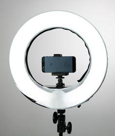 "Diva Ring Light 12"" w/ Dimmer + Photo Stand+Mirror by Stellar Bundle #StellarLightingSystems"