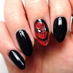 Lacquered Lawyer | Nail Art Blog: Spidey Senses
