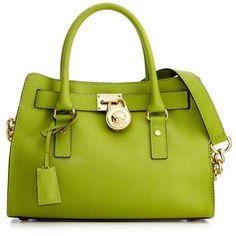Michael Michael Kors Handbag, Hamilton Saffiano Leather Satchel