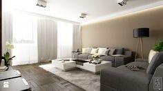 JASNE MIESZKANIE - Salon, styl nowoczesny - zdjęcie od PEKA STUDIO Interior Design Inspiration, Home Interior Design, Bright Apartment, Cinema Room, Family Room, Sweet Home, New Homes, Living Room, House