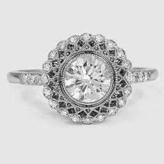 Platinum Alvadora Diamond Ring
