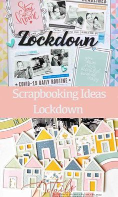 Scrapbooking Freebies, Scrapbook Page Layouts, Scrapbook Pages, Scrapbook Templates, Project Life Layouts, Project Life Freebies, Lets Stay Home, Paper Companies, Cool Themes