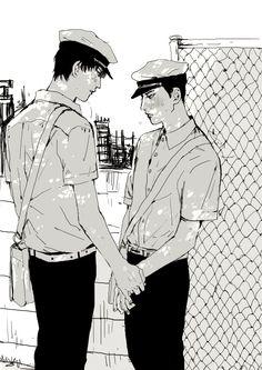Manga Art, Manga Anime, Anime Art, Art Sketches, Art Drawings, Character Art, Character Design, Hotarubi No Mori, Arte Horror