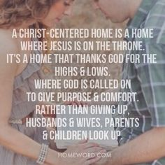 Thankful Heath and I agree completely on how our home will be!
