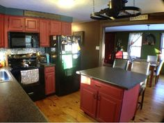 Cute Country Kitchen #RealEstateNH #HennikerNH #RealEstate  #NH #Kitchen #homeforsale