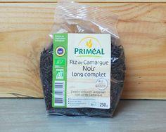 Riz noir de Camargue - Priméal    // Pour plus d'informations sur ce produit, rendez-vous sur http://www.foodizbox.com/nos-box.php?box=24