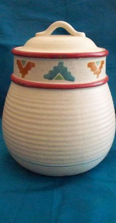 Saratoga Cookie Jar made in USA by Treasure Craft