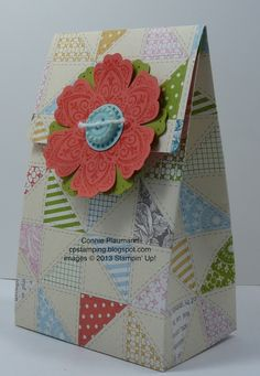 Gift bag from card stock