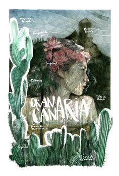 #ONTHEDRAW   Gran Canaria por Paula Bonet