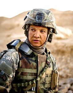 Jeremy Renner As Sgt. William James in The Hurt Locker